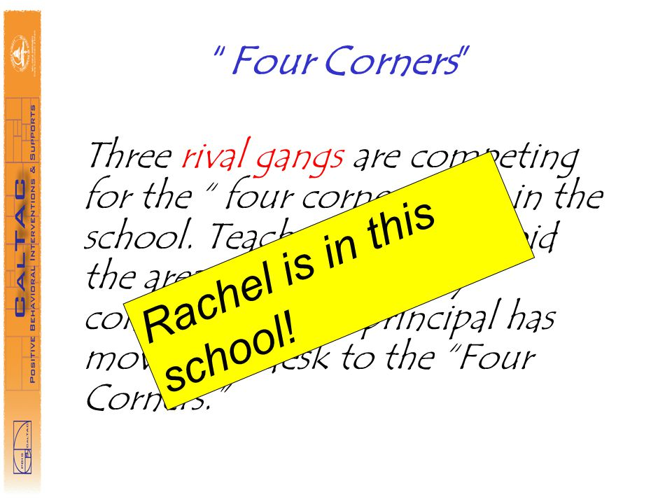Rachel is in this school!