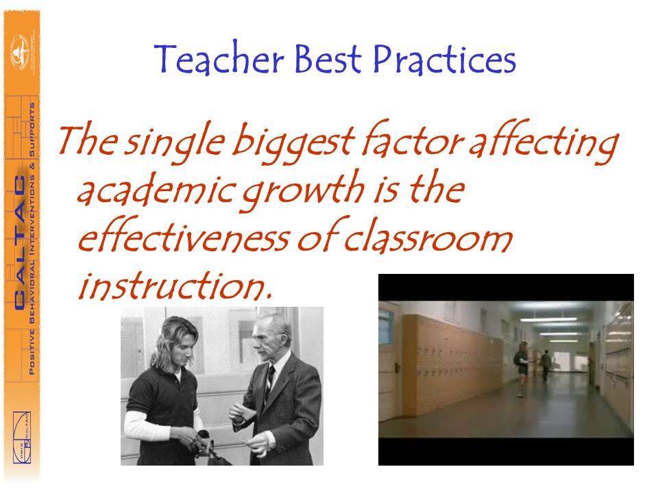 Teacher Best Practices