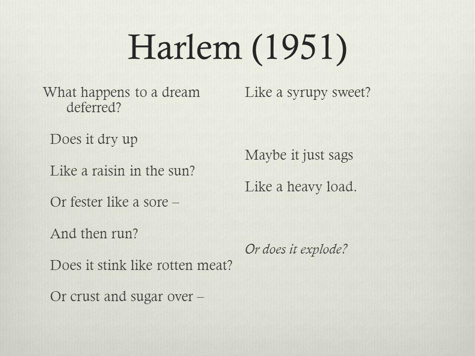 Harlem (1951)