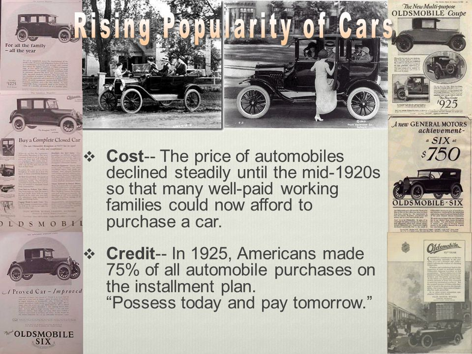 Rising Popularity of Cars