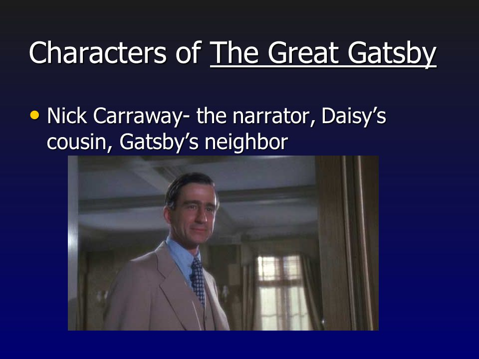 Characters of The Great Gatsby