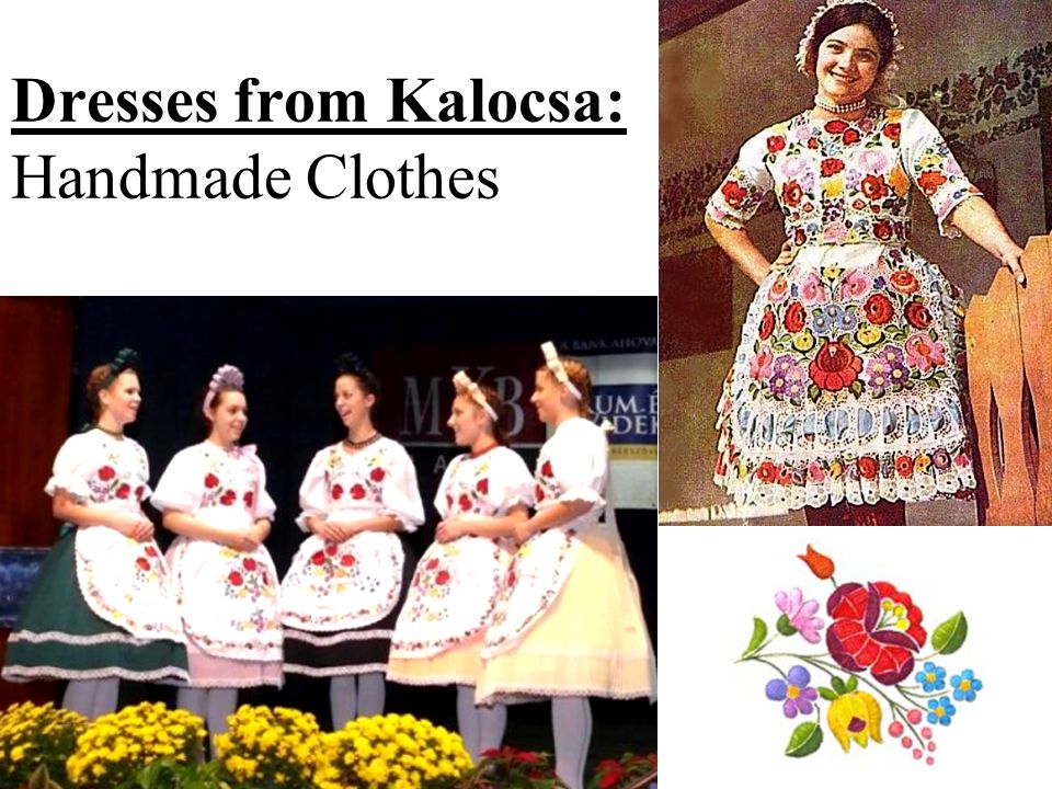 Dresses from Kalocsa: Handmade Clothes