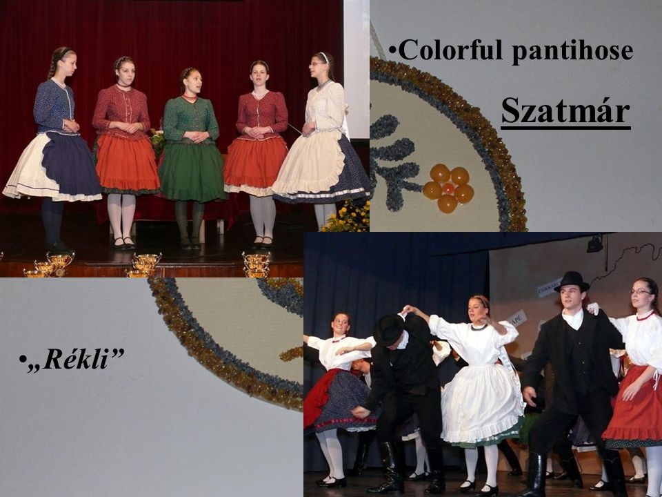 "Colorful pantihose Szatmár ""Rékli"