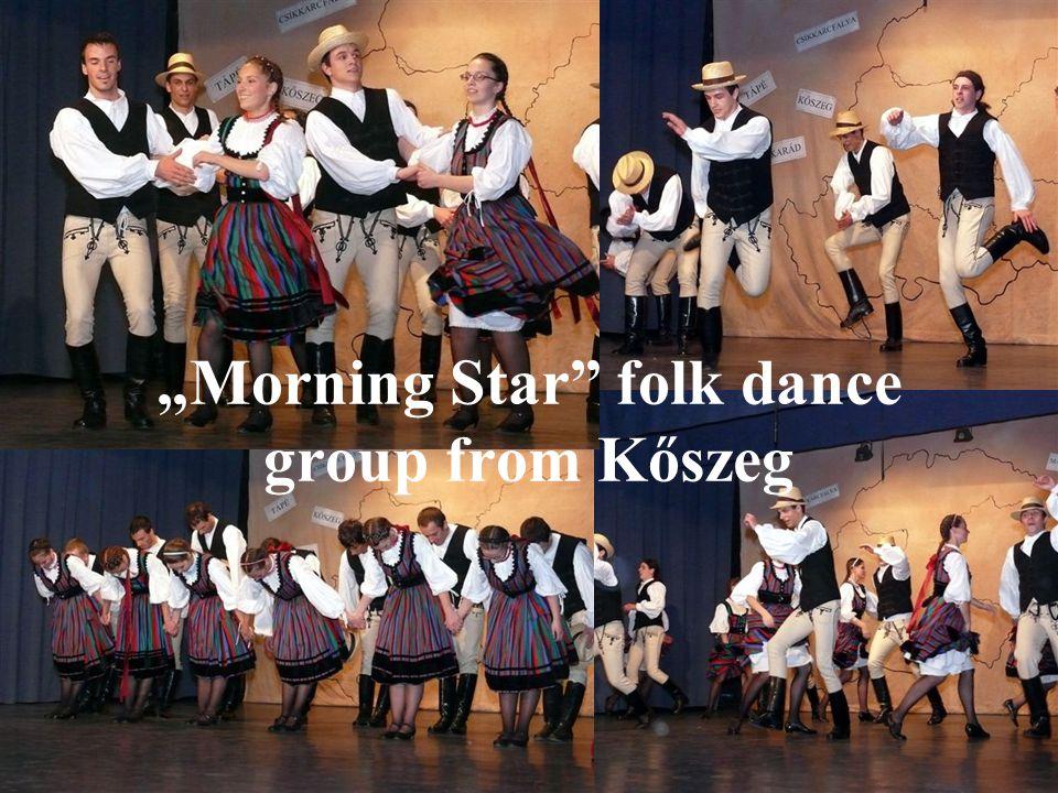"""Morning Star folk dance group from Kőszeg"