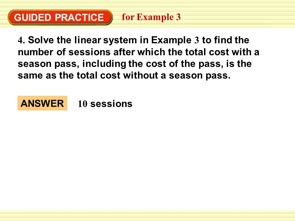 GUIDED PRACTICE for Example 3.