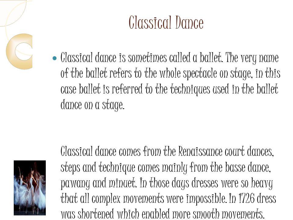 7 Classical Dance.