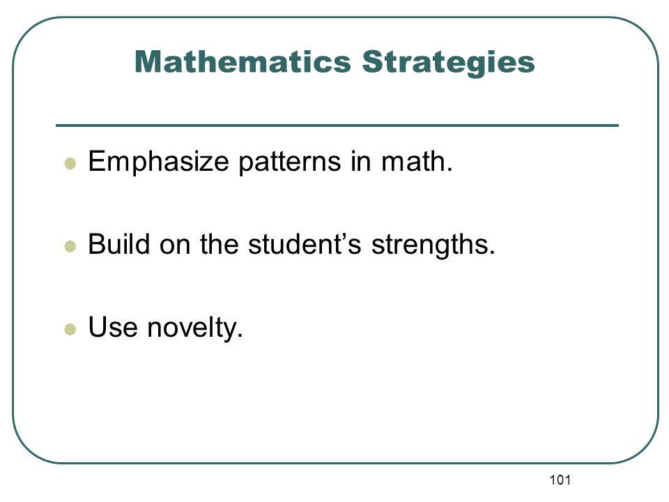 Mathematics Strategies