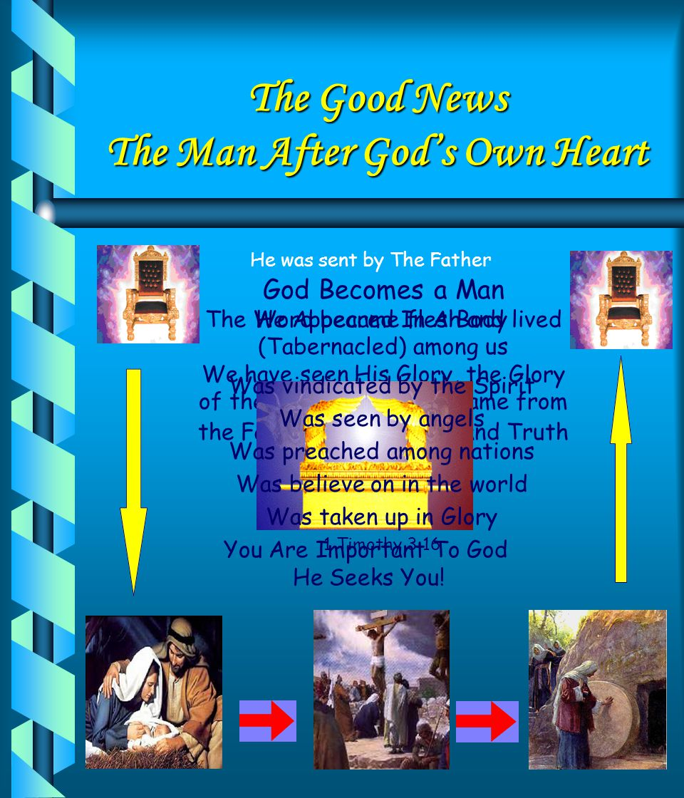 The Good News The Man After God's Own Heart