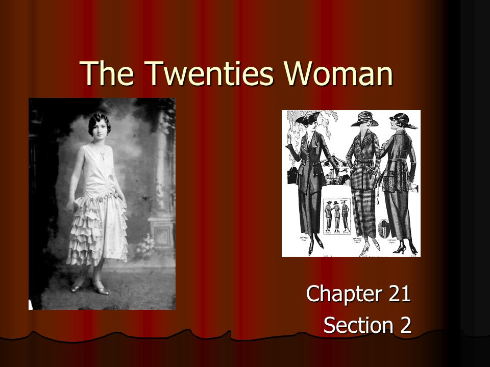The Twenties Woman Chapter 21 Section 2