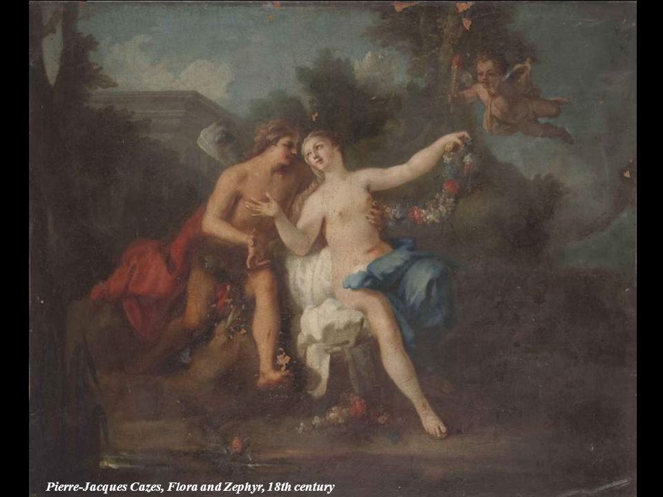 Pierre-Jacques Cazes, Flora and Zephyr, 18th century