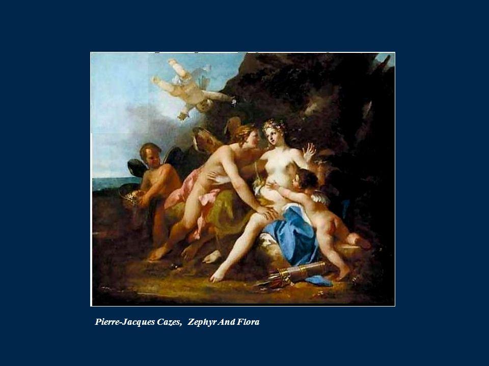 Pierre-Jacques Cazes, Zephyr And Flora