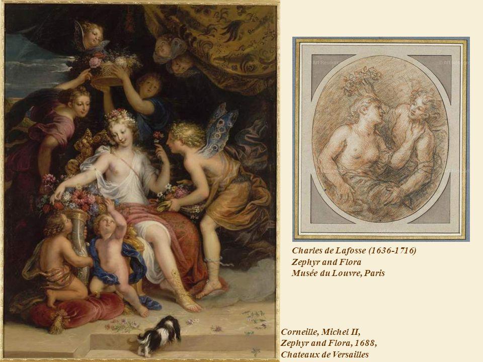 Charles de Lafosse (1636-1716) Zephyr and Flora Musée du Louvre, Paris