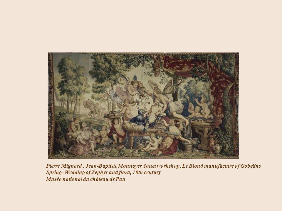 Pierre Mignard , Jean-Baptiste Monnoyer Souet workshop, Le Blond manufacture of Gobelins