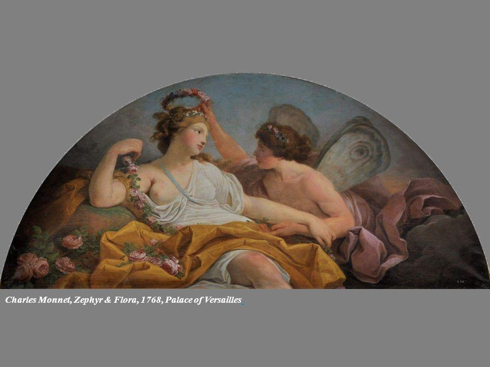 Charles Monnet, Zephyr & Flora, 1768, Palace of Versailles