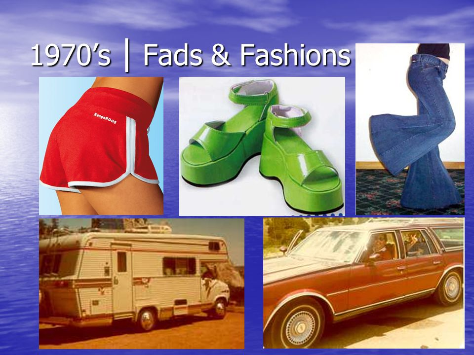 1970's | Fads & Fashions
