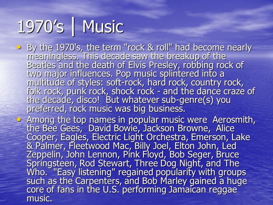 1970's | Music