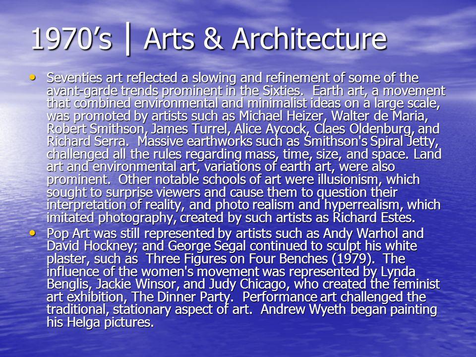 1970's | Arts & Architecture
