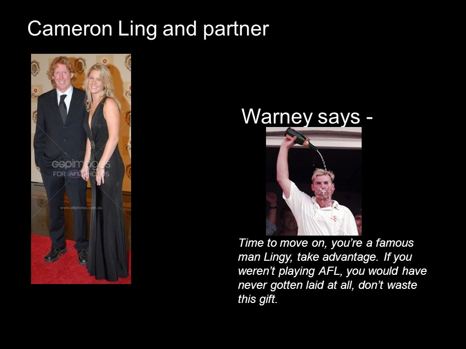 Cameron Ling and partner
