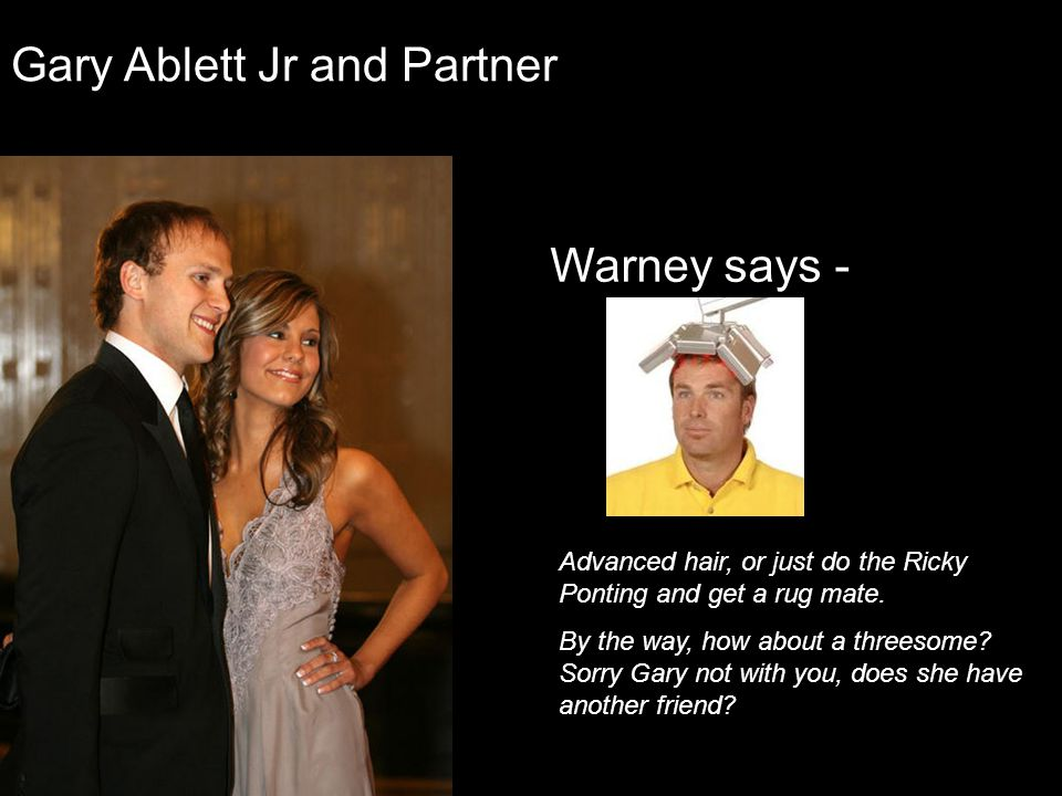 Gary Ablett Jr and Partner
