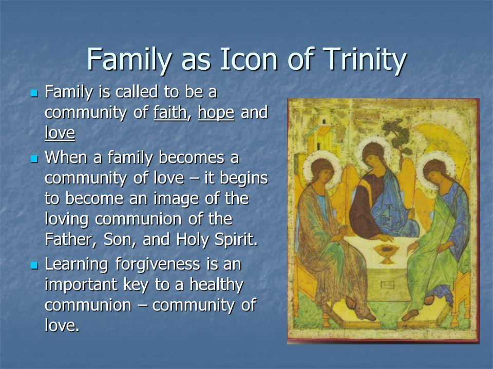Family as Icon of Trinity