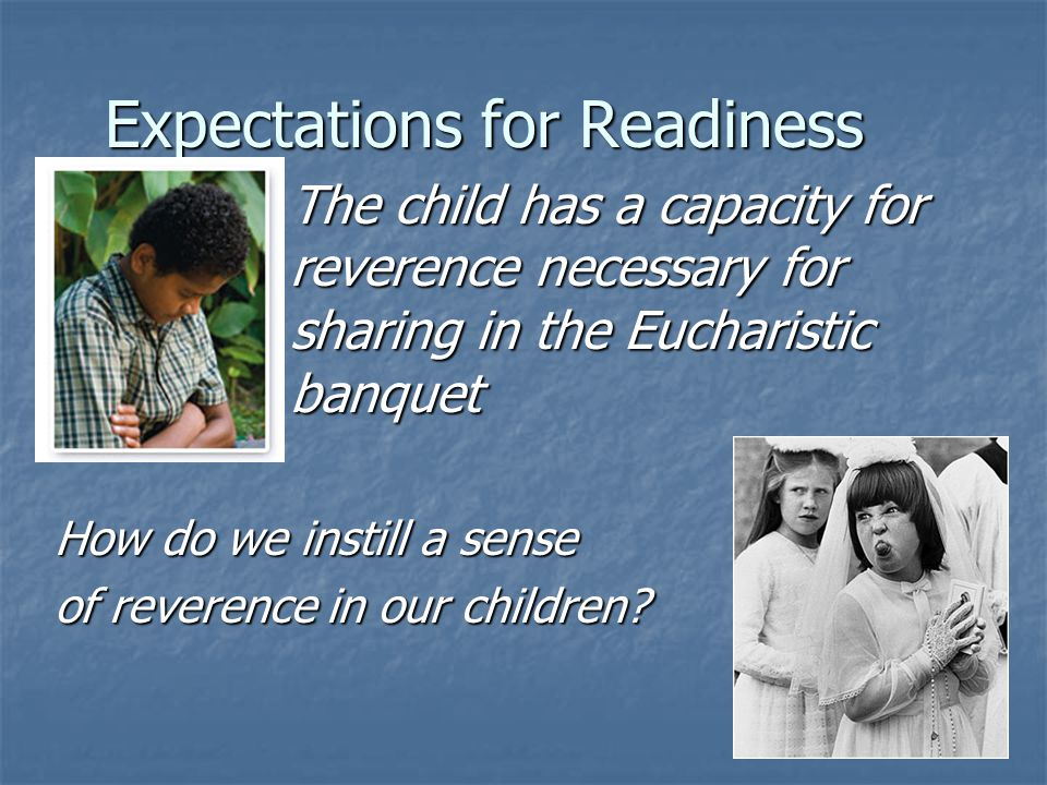Expectations for Readiness
