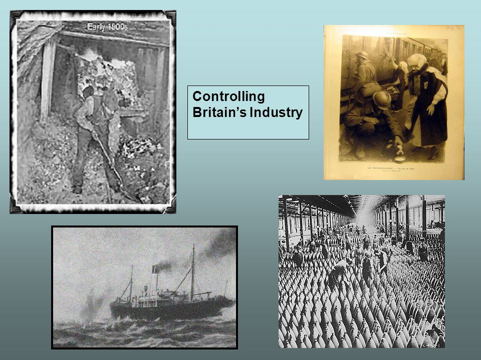 Controlling Britain's Industry