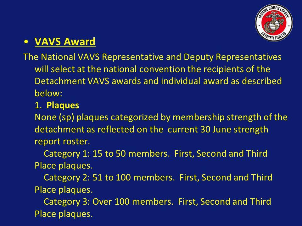 VAVS Award