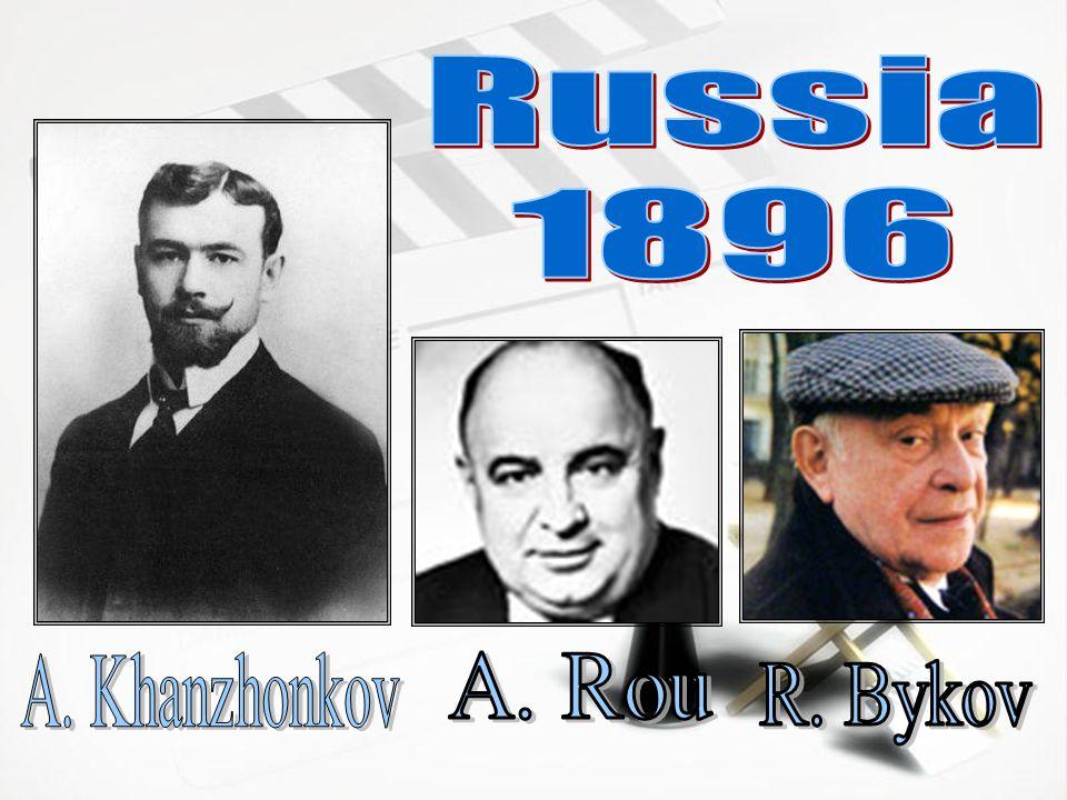 Russia 1896 A. Khanzhonkov A. Rou R. Bykov