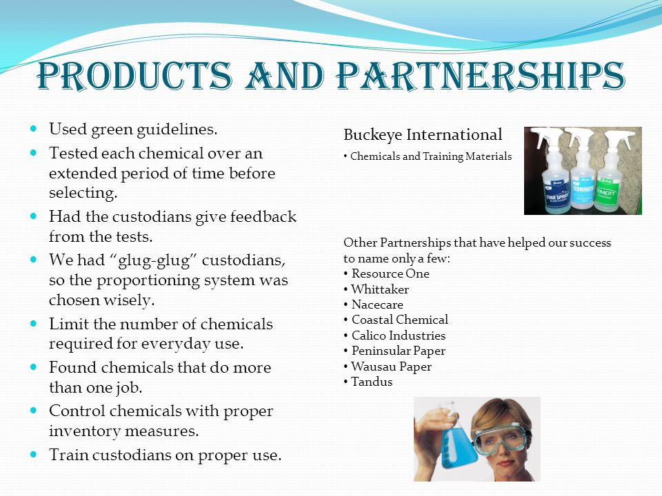 Products and Partnerships