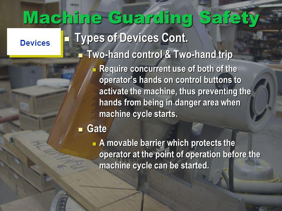 Machine Guarding Safety