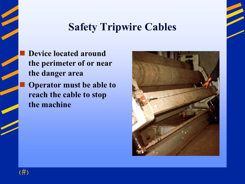 Safety Tripwire Cables