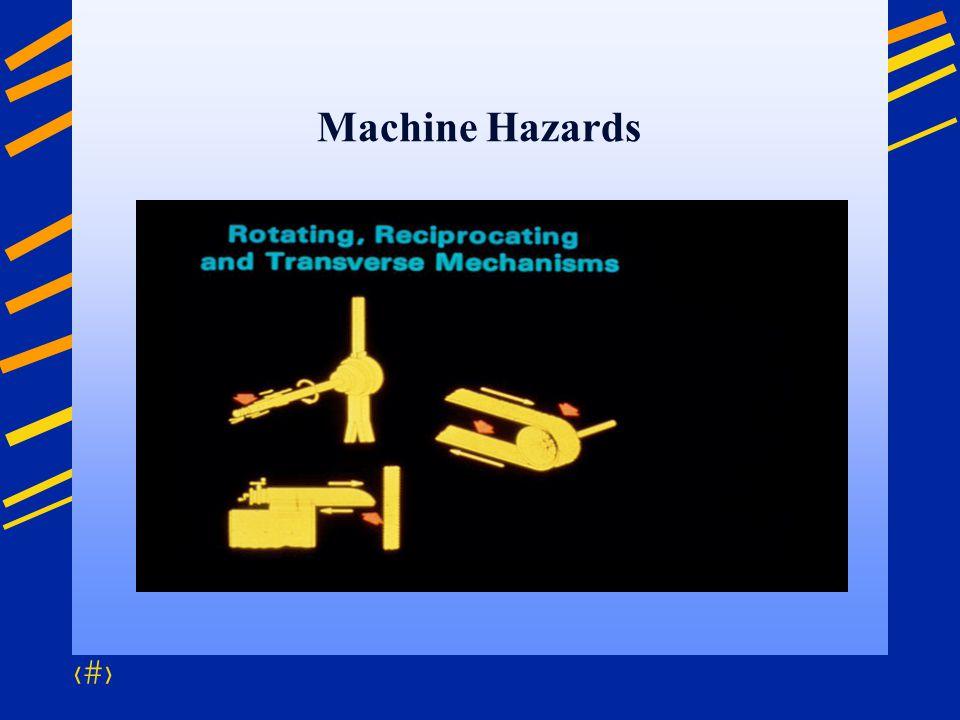 Machine Hazards