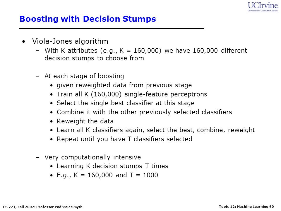 Boosting with Decision Stumps