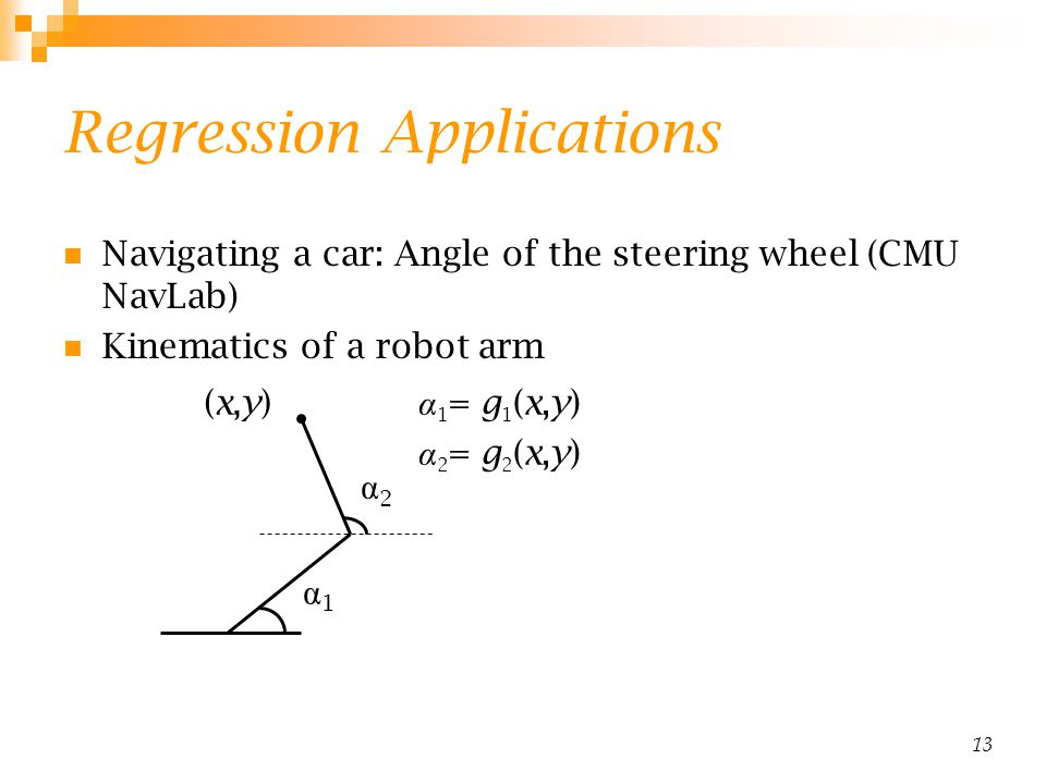 Regression Applications