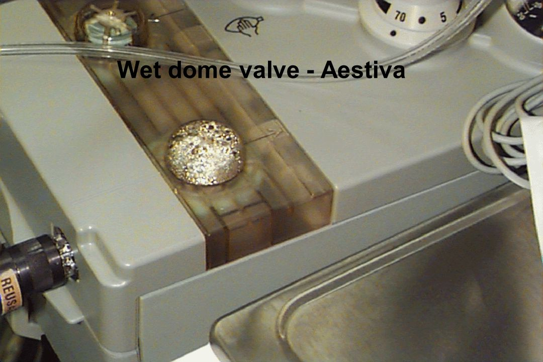 Wet dome valve - Aestiva