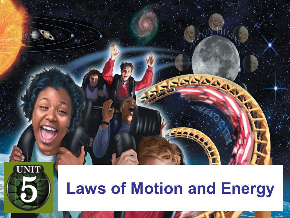 Laws of Motion and Energy