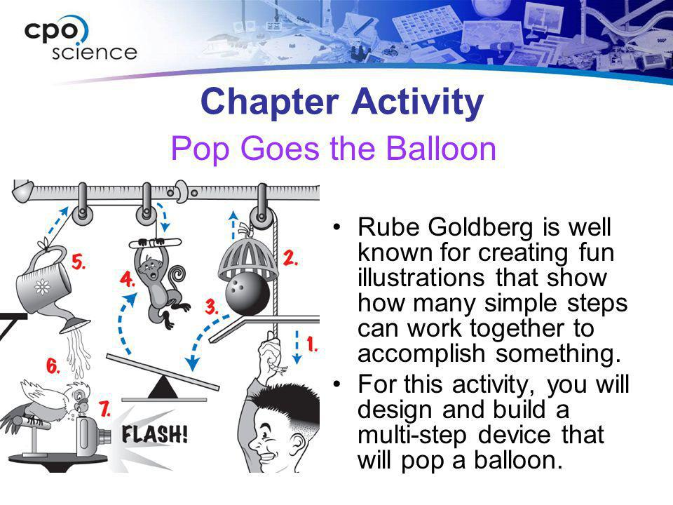 Chapter Activity Pop Goes the Balloon