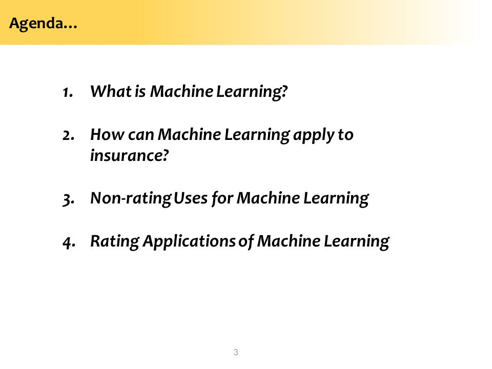 What is Machine Learning How can Machine Learning apply to insurance