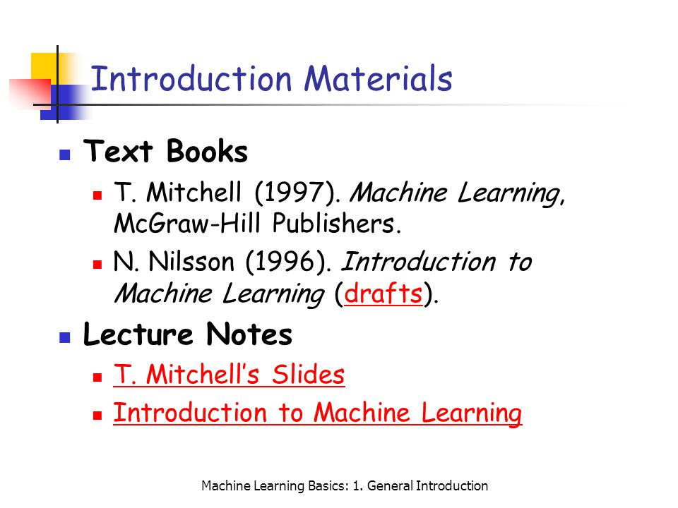 Introduction Materials