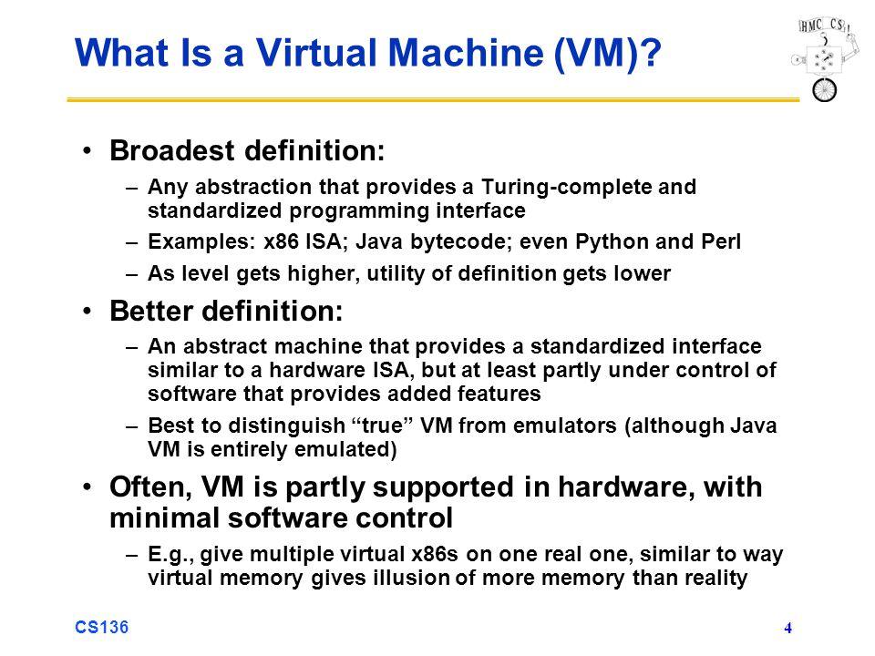 What Is a Virtual Machine (VM)