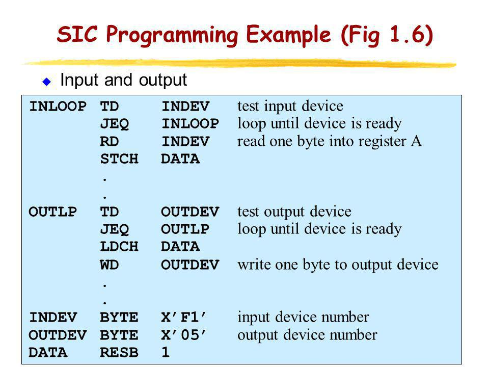 SIC/XE Machine Architecture (1/11)