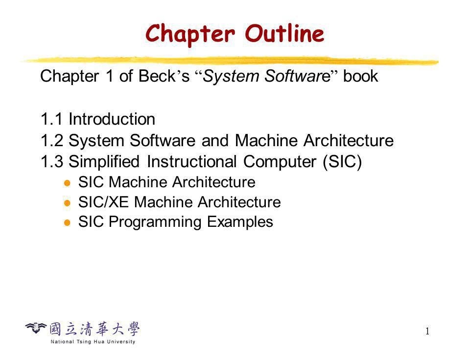 System Software System software consists of a variety of programs that support the operation of a computer, e.g.