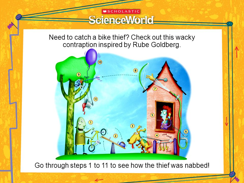 Go through steps 1 to 11 to see how the thief was nabbed!