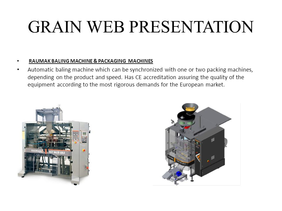 GRAIN WEB PRESENTATION
