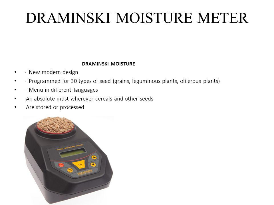 DRAMINSKI MOISTURE METER