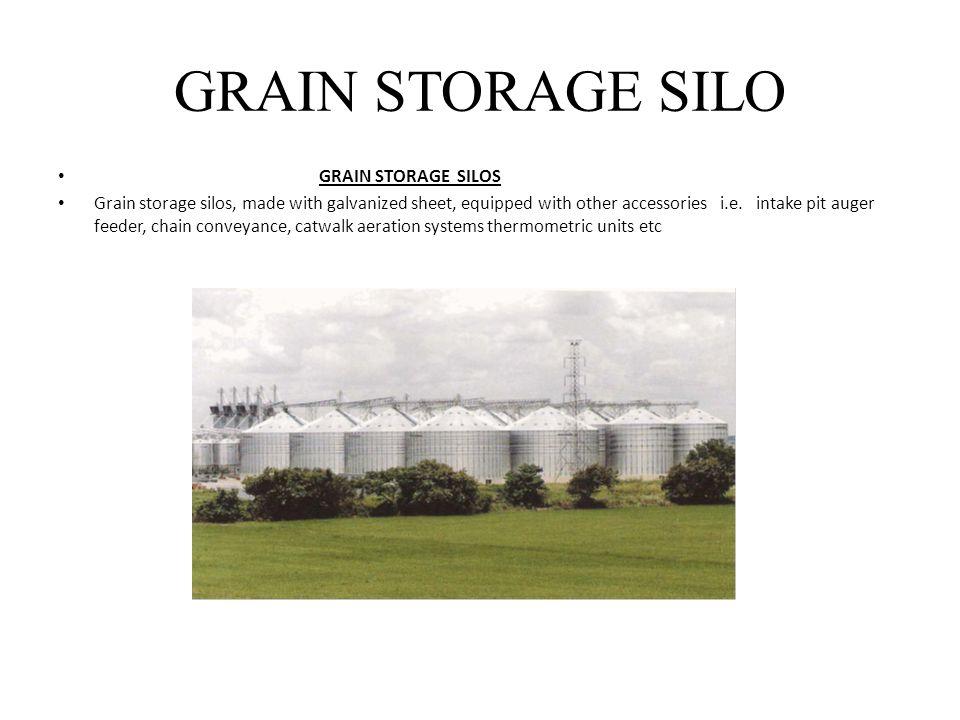 GRAIN STORAGE SILO GRAIN STORAGE SILOS