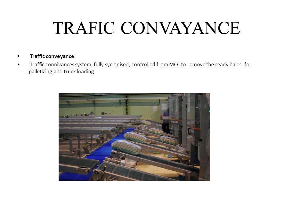 TRAFIC CONVAYANCE Traffic conveyance
