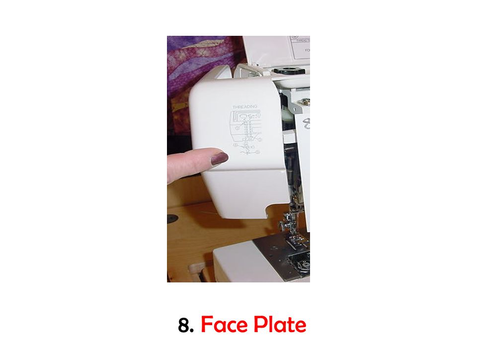 8. Face Plate