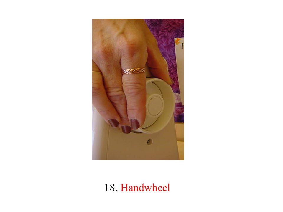 18. Handwheel