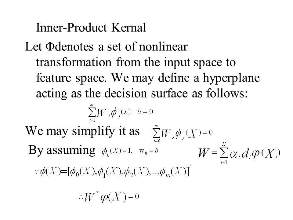 Inner-Product Kernal